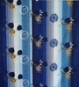 Just Linen Blue Fabric Queen Size Comforter