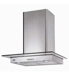 Kaff Ideal MXBF 60 Cm Hood Chimney In Silver