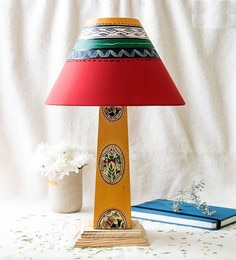 Kalaplanet Multicolour Fabric Table Lamp
