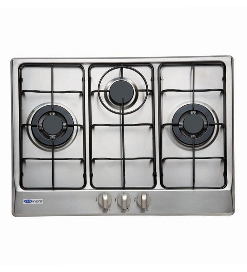 Kaff N 703 SS 3-burner With Auto Ignition Hob