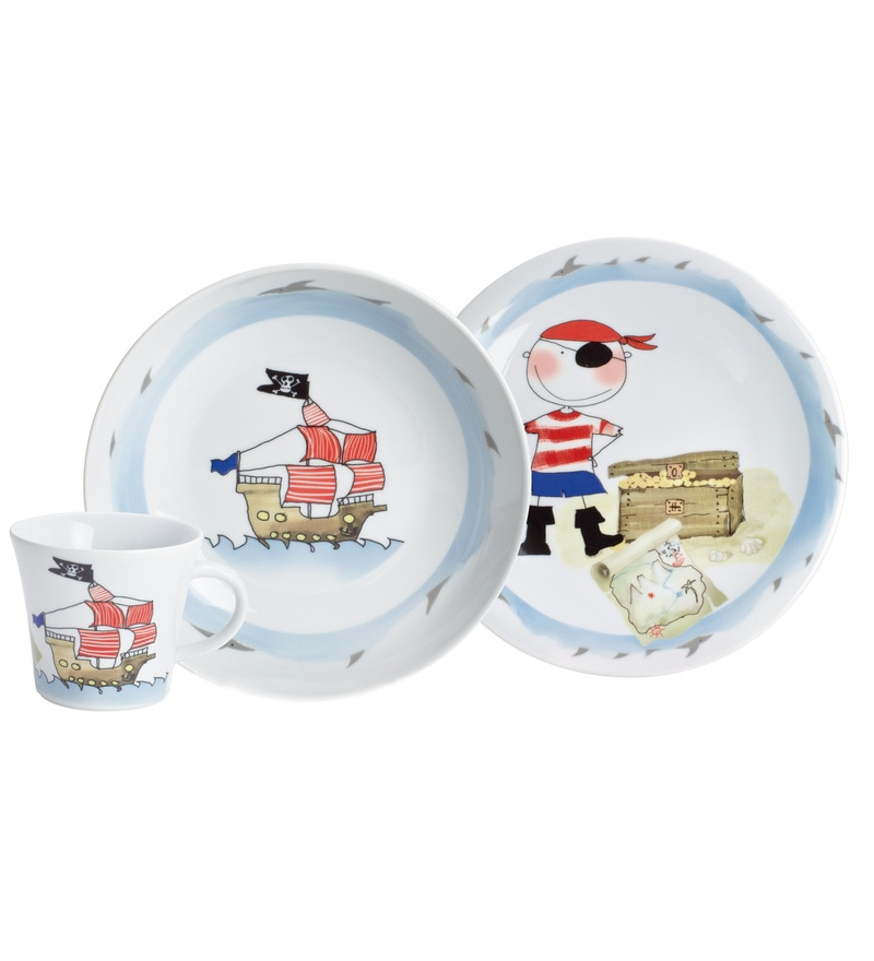 Kahla 3 Piece Treasure Pirate Crockery Set