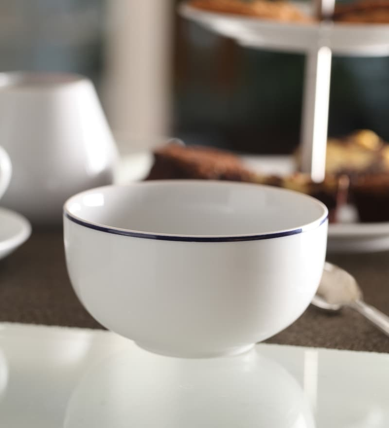 Kahla Aronda Blue Line Porcelain Bowl