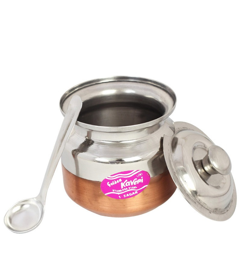 Buy Kaveri Silver 200 Ml Oil Amp Ghee Container Online Oil
