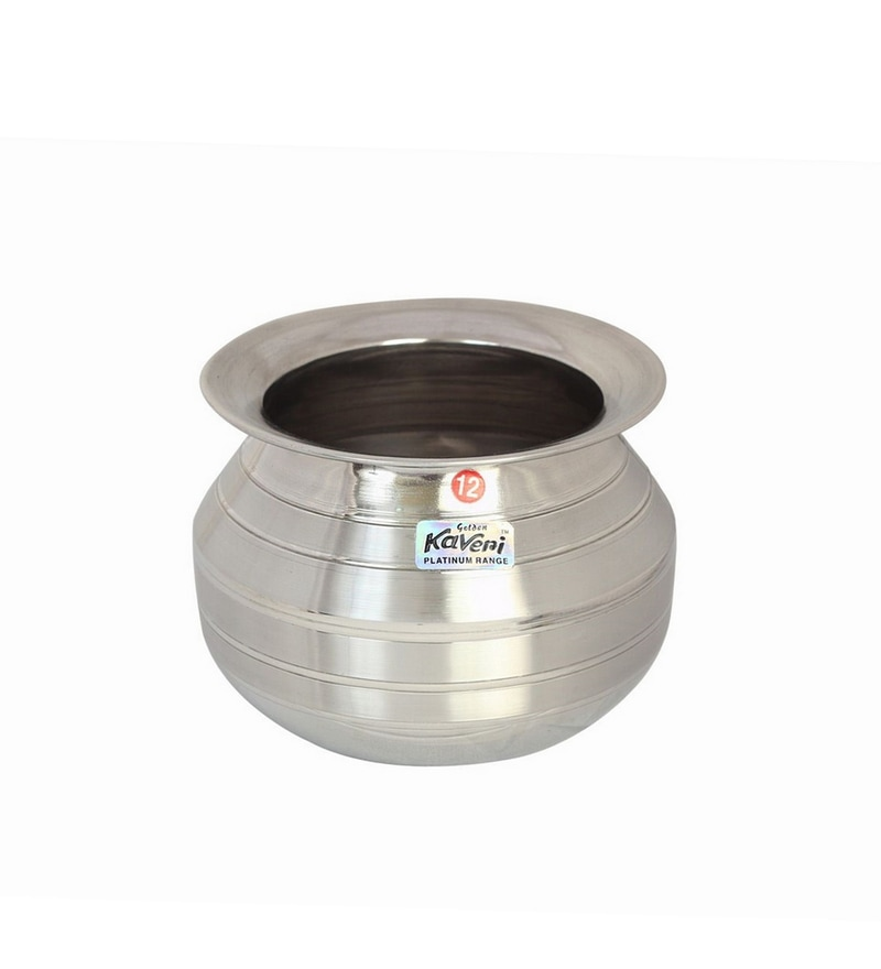 Kaveri Stainless Steel Water Storage Container Shiena 2 L Lota