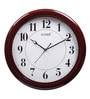 Brown Wooden 13 Inch Round 2131 Ff Wall Clock by Kaiser