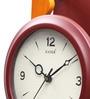 Brown Wooden 7.7 x 20.1 Inch Pendulum Wall Clock by Kaiser