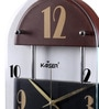 Cola Wooden 10 x 2 x 16.1 Inch Wall Clock by Kaiser