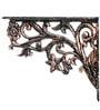 Karara Mujassme Cast Aluminium Victorian Style Antique Gold Shelf L-Bracket