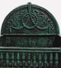 Karara Mujassme Victorian Style Antique Green Cast Iron Fire Pit