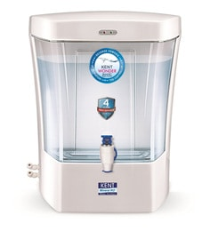 Kent Pearl White Wonder Wall-Mounted RO Water Purifier,7000 Ml