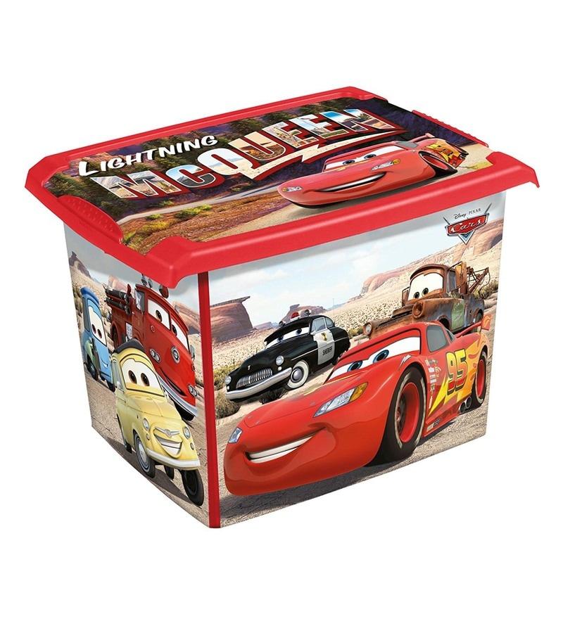 Keeeper Cars Plastic 20.5 Litres Deco Box