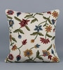 KEH Multicolour Cotton & Wool 20 x 20 Inch All Over Floral Cushion Cover