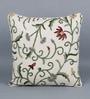 KEH Multicolour Cotton & Wool 20 x 20 Inch Techmal Sand Cushion Cover