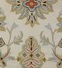KEH Multicolour Wool Artistic Floral Area Rug