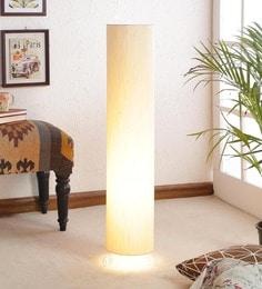 Floor lamps buy designer floor lamps online in india at best khadi poly cotton floor lamp aloadofball Gallery