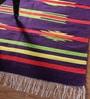Khadi Multicolour Cotton 78 x 42 Inch Gulnaar Dhurrie