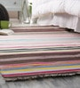 Khadi Multicolour Cotton 78 x 42 Inch Amber Dhurrie