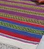 Multicolour Cotton 84 x 48 Inch Gulchaman Dhurrie by Khadi