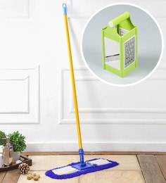 Kingsburry Dust Control Floor Mop With Free 4 In 1 Slicer