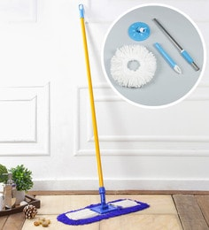 Kingsburry Dust Control Floor Mop With Free Blue Mop Rod
