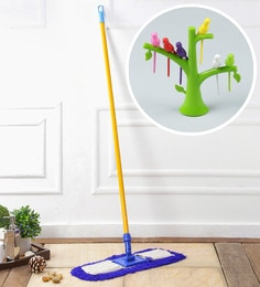 Kingsburry Dust Control Floor Mop With Free Fruit Fork