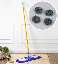 Kingsburry Dust Control Floor Mop With Free Steel Juna