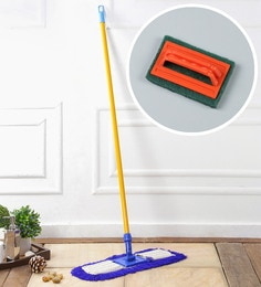 Kingsburry Dust Control Floor Mop With Free Tile Brush