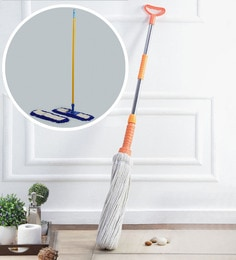 Kingsburry Twist & Squeeze Cotton Mop With Free Dust Control Floor Mop