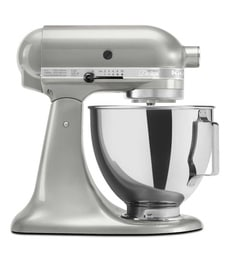 KitchenAid 4.8L Artisan Design Tilt Head Stand Mixer (Sugar Pearl) 5KSM150PSDSR