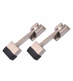 Klaxon Kbm3 Brass Door Stoppers - Set Of 2