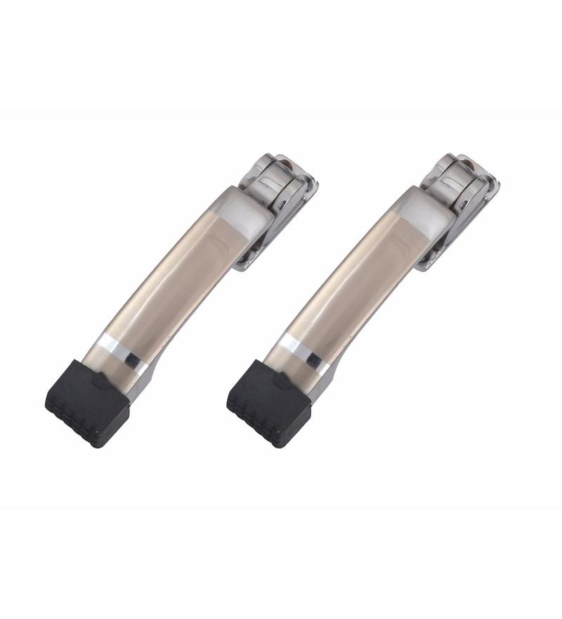 Klaxon Brass Door Stoppers - Set of 2