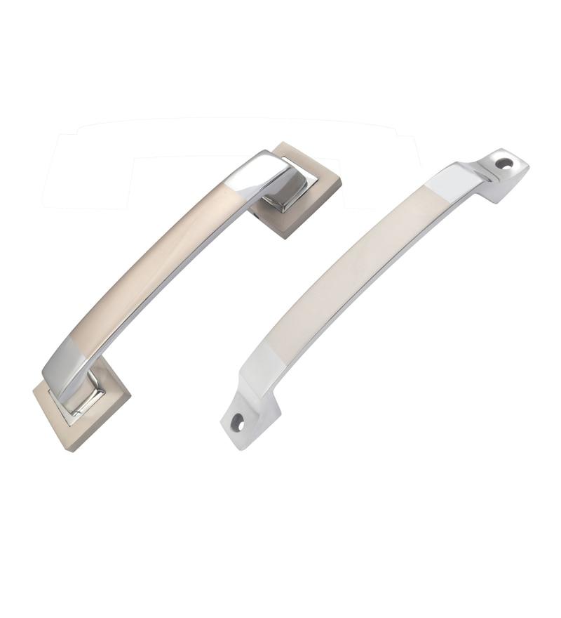 Klaxon Elite Brass Door Handles - Set of 2