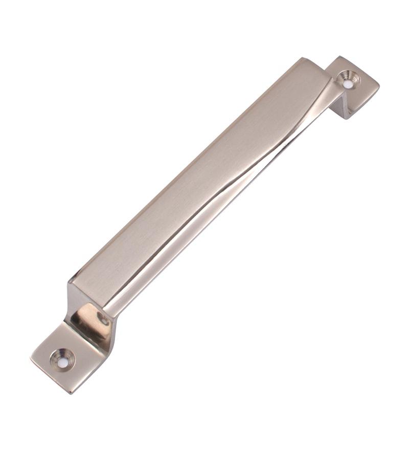 Klaxon Kbm3 Brass 1 x 1 x 6 Inch Door Handles - Set of 3