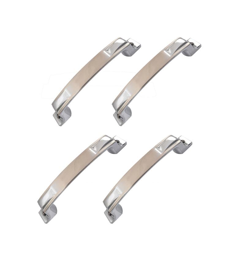 Klaxon Noble Brass Door Handles - Set of 4