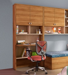 Kosmo Oscar Study Table With Wall Storage