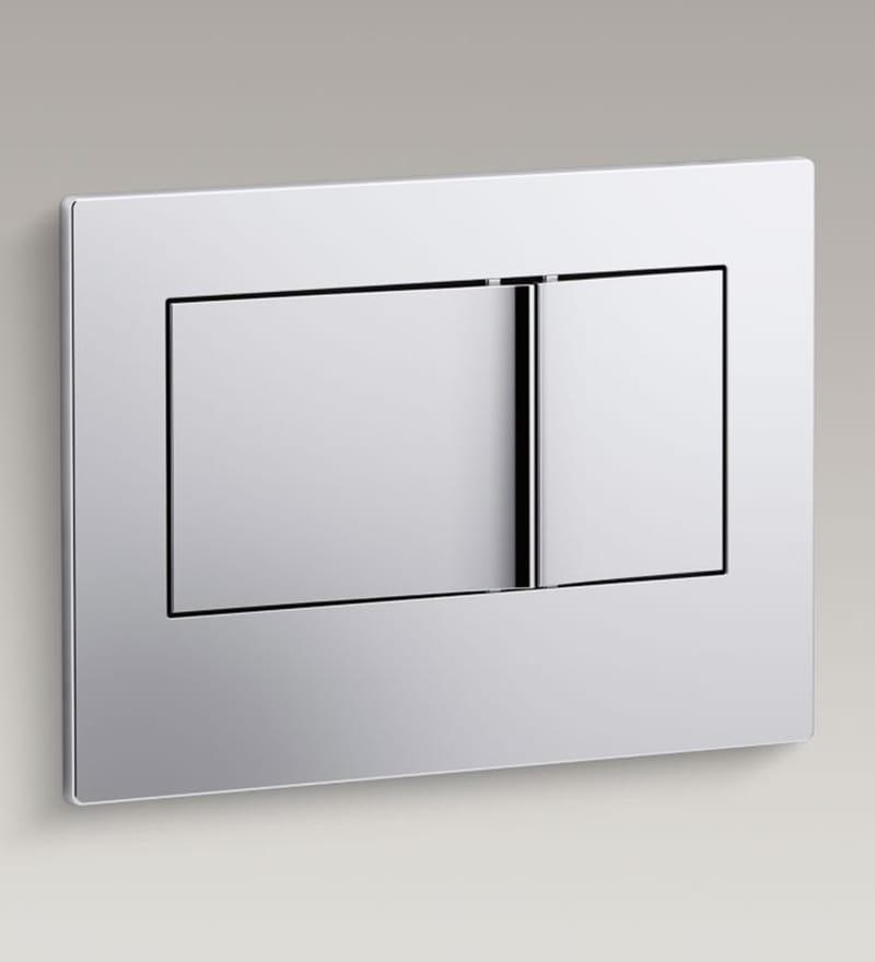 Kohler Bevel White Abs Inwall Tank Face Plate