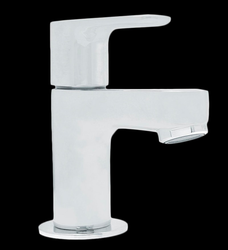 Kohler July Silver Stainless Steel Pillar Lavatory Faucet