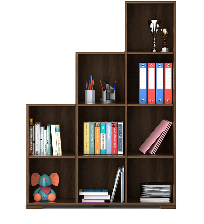 Buy Kosmo Book Shelf In Glossy Vermount Finish By