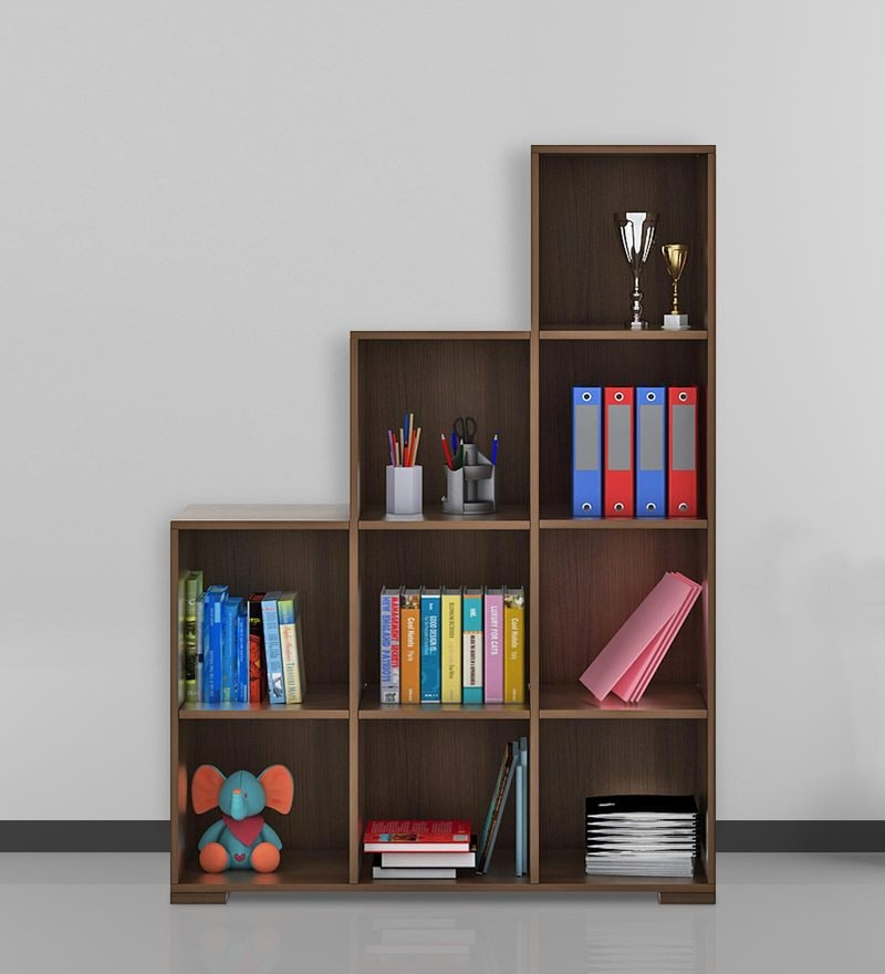 Kosmo Book Shelf in Glossy Vermount Finish by Spacewood