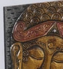 Kokoon Multicolour MDF Buddha Wall Hanging