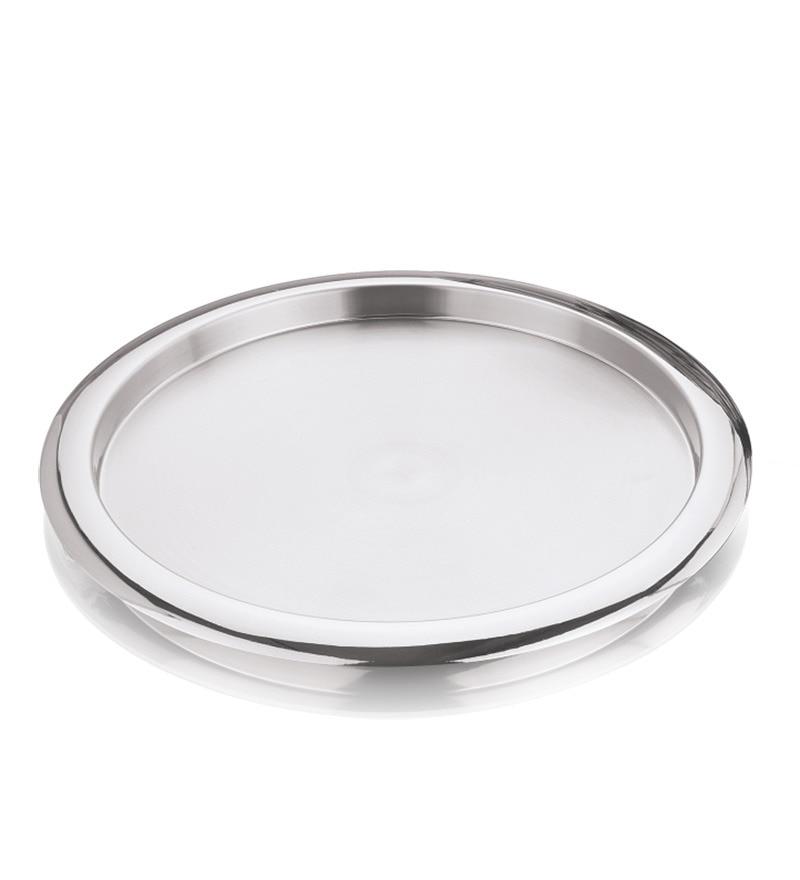 Kraft Stainless Steel Side Plates - Set of 6