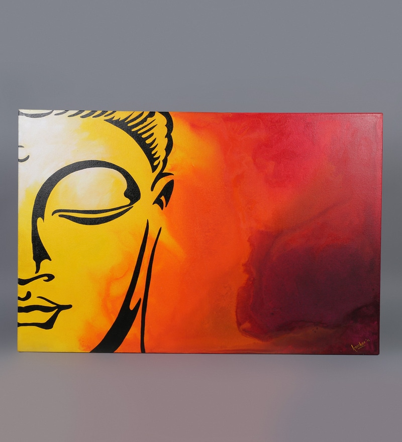 Buy Krish Art Canvas Amp Acrylic 30 X 1 5 X 20 Inch Sleeping