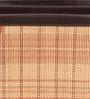 Kraftsmen Brown Faux Leather & Chic Multicolour Magazine Holder