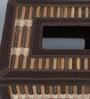 Kraftsmen Handcrafted Brown PU & Chic Tissue Box