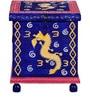 Nilaka Hand Painted Trunk Box by Mudramark