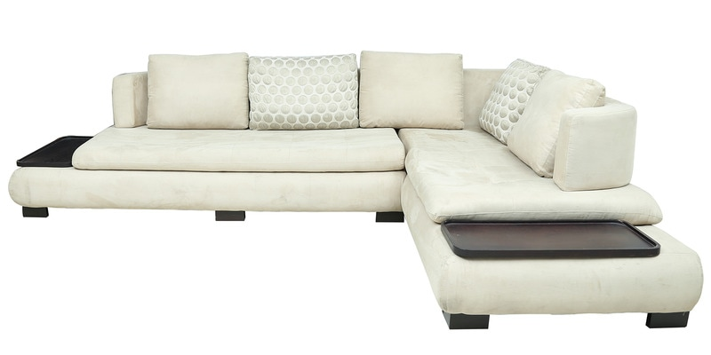 Buy L Shape Sectional Corner Sofa With Right Lounger In