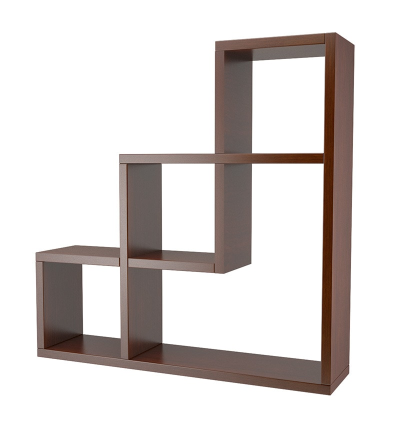 Buy L Shaped Wall Shelf Online Contemporary Wall Shelves Pepperfry