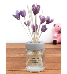 Lavender With Bakuli Flower In Reed Sticks Diffuser