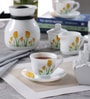 Diva Tulip Passion Opal Ware Dinner Set - Set of 64 by La Opala