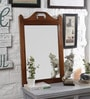 La Stella Brown Solid Wood Cambridge Accent Framed Mirror